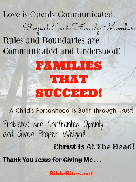 Families that succeed